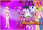 Juego  white angel katie dress up. viste a katie