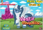 Juego pretty pony dress up. viste al pony