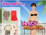 Juego summer flower dresses for girl  dressupgirlus. vestida para el verano