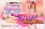 Juego  pretty nighties dress up. viste a la chica guapa