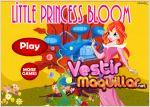Juego  little princess bloom. pequeña princesa