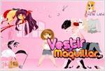 Juego  little girlie dress up viste a la niñita