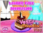 Juego  marry me wedding cake decoration. decora la tarta de boda