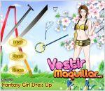 Juego  fantasy girl dress up. chica guerrera