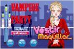 Juego  vampire party dress up. fiesta de vampiro.