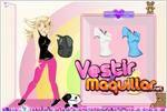 Juego  britney dress up vestir a britney