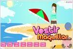 Juego  beach dress up vestir a la chica para la playa