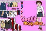 Juego  student girl dress up game vestir a la estudiante