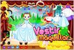 Juego  princess dress up vestir a una princesa