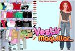 Juego  shakira dress up vestir a shakira