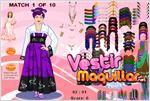 Juego  dress up the world visten el mundo