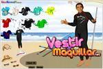 Juego obama beach dress up obama vestido de playa