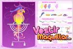 Juego  lovebird dress up vestir al loro