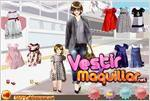 Juego  fashion mom daughter moda de madre e hija