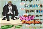 Juego  funny chimp dressup vestir al gracioso chimpance