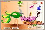 Juego  ostrich dress up vestir a la avestruz