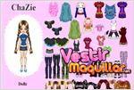 Juego  chazie dress up vestir a chazie