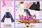 Juego barbie style vintage dressup vestir a barbie con un estilo anticuado