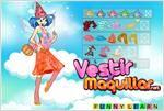 Juego winx bloom fairy dress up vistieno al hada winx