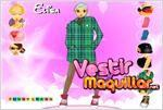 Juego  elisa dress up viste a elisa