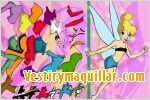 Juego  tinkerbell dress up vestir a tinkerbell