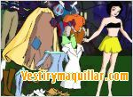 Juego  snow white dress up vestir a blanca nieves
