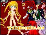 Juego  rozen maiden dress up vestir a una de las rozen maiden