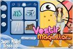 Juego super model dress up vestir a la supermodelo