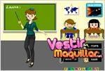 Juego  teacher dress up maestra de la moda