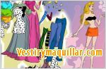 Juego  sleeping beauty dress up vestir a la bella durmiente