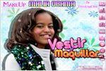 Juego  malia obama designed by you malia obama diseñada por usted