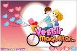 Juego admirable bicycle lovers enamorados en bicicleta