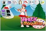 Juego  swing batter dress up vestir a la jugadora de beisbol