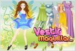 Juego spring fairy dress up vestir al hada de la primavera