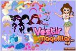 Juego  daughter dress up vestir para las vacaciones