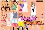 Juego  cool girl dress up chica cool