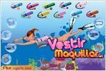 Juego  dating in the sea vestir en el mar