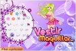 Juego beauty purple bubble fairy vestir al hada