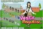Juego school girl dress up vestir a la niña de la escuela