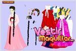 Juego  asian girl dress up vestir a la chica asiatica