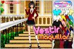 Juego  college fashion moda colegial
