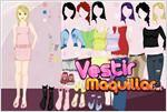 Juego lavishing girl dress up vestir a la niña