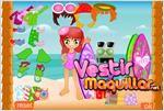Juego  hawaiian surfer dress up vestir a la surfista hawaiana