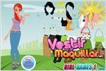 Juego  summer girl dress up vestir para el verano
