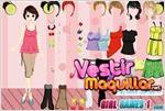 Juego  model girl dress up vestir a la modelo