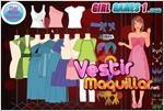 Juego  dress up fashion girl vestir a la joven