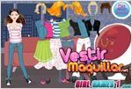 Juego  city girl dress up vestir para salir de paseo