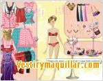 Juego  vera dress up vestir a vera