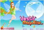 Juego  dress up elf alice vestir a la elfa alice