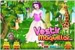Juego  snow white dress up vestir a blancanieves